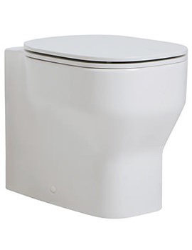 Related Azzurra Glaze Floorstanding Back To Wall WC Pan 360 x 520mm White