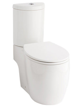 Eternity Classic Open Back-To-Wall WC With Cistern And Seat