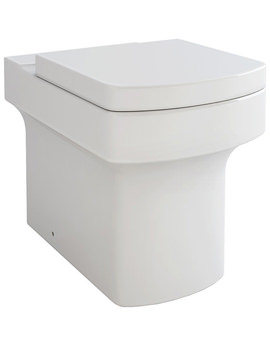 Dekka Back-To-Wall WC Bowl And Soft Close Seat 540mm