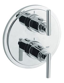 Atrio Jota Thermostatic Bath Shower Mixer Trim - 19399000