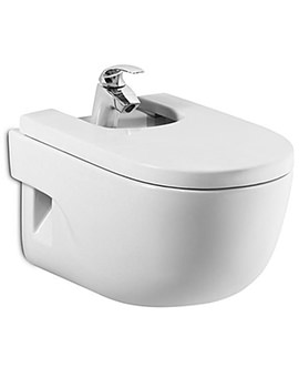 Meridian-N Wall Hung Over-Rim Bidet 560mm With Cover - 357245000
