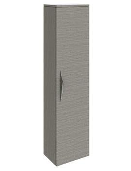 Related Hudson Reed Memoir Oak 1 Door Wall Hung Tall Unit - FME015