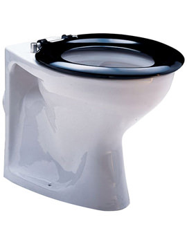 Delphic Back-To-Wall WC Pan 535mm - WC1742WH