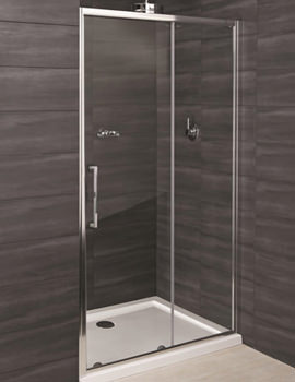 Deluxe 8 Sliding Shower Enclosure Door 1400mm - RAK8SL1400