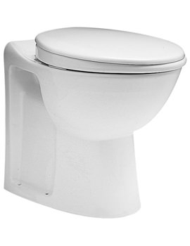 Avalon Back-To-Wall WC Pan 560mm - AV1168WH
