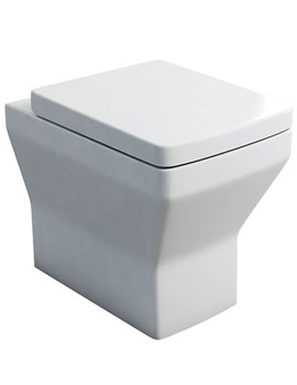 Cube S20 Back To Wall WC Pan And Carbamide Soft Close Seat