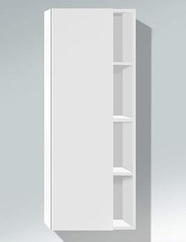 Duravit DuraStyle White Matt 1400 x 240mm Tall Cabinet - DS1238L1818