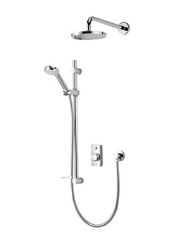 Aqualisa Visage Digital Divert Concealed Shower With Fixed Head - HP Combi