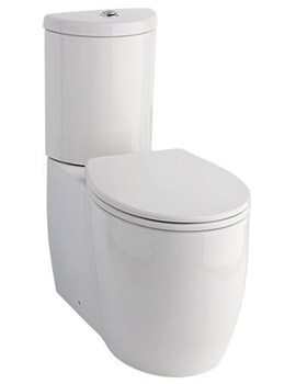 Eternity Classic Fully Back-To-Wall WC With Cistern And Seat