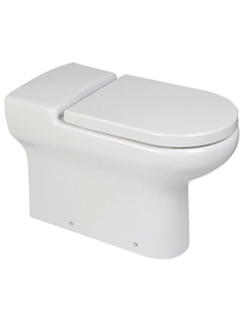 Compact Extended Rimless Back-To-Wall WC Pan 700 Or 750mm