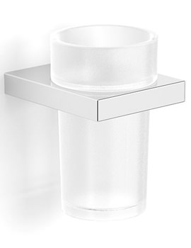 Essential Urban Square Tumbler Holder With Glass - EA31011