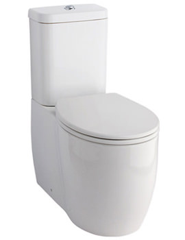 Eternity Square Fully Back-To-Wall WC With Cistern And Seat