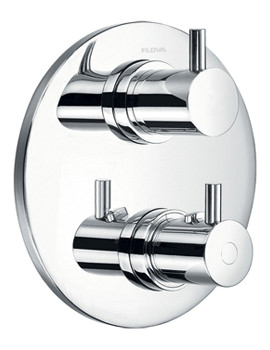 Levo Concealed Thermostatic Shower Mixer With Shut Off Valve