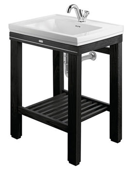 Imperial Cuda Metal Weave Open Wash Station 645mm Wenge - XWC0016042