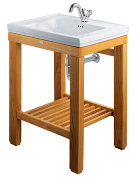 Cuda Natural Oak Open Wash Station - XWC0016020