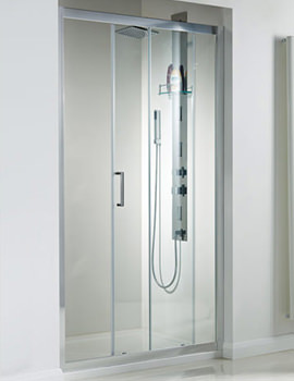Spirit 8mm Framed Single Sliding Door 1200mm - SE910