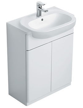 Softmood Semi-Countertop Basin Unit White -T7818WG