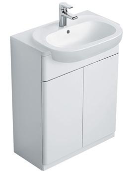 Softmood Semi-Countertop Basin Unit White -T7818WG