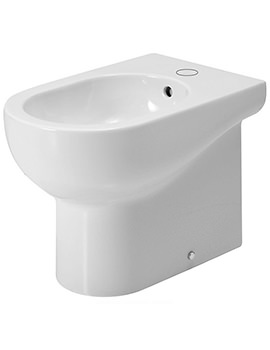 Nuvola 1 TH Floor Standing Back-To-Wall Bidet 550mm Projection