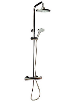 Round Exposed Thermostatic Shower Valve With Shower Set