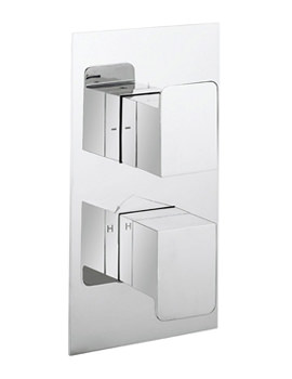 Related Crosswater Kelly Hoppen Zero 3 Recessed Thermostatic Shower Valve