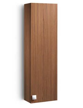 Senso-N Walnut Column Unit 350mm Wide - 856480294