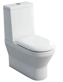 Britton Curve S30 Back To Wall Close Coupled WC And Cistern With Lid