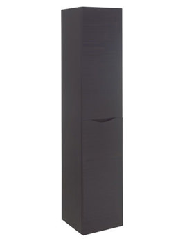 Glide II Wall Hung Tower Unit 1600mm Height Wenge