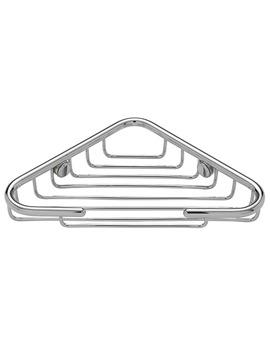 Tre Mercati Wall Mounted Triangular Corner Basket - 66410