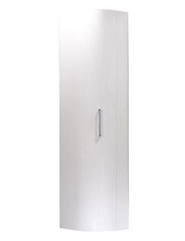 Luxe 350mm White Storage Unit
