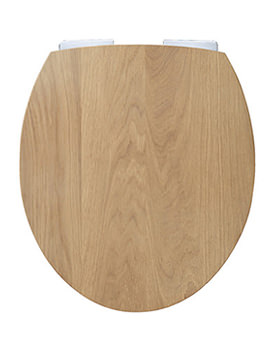 Origin Soft Closing Toilet Seat Natural Oak - 8300NOSSC