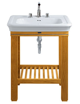 Etoile 700mm Basin With Cuda Open Vanity Unit - ET1LB11030