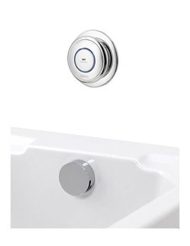 Quartz Pumped Digital Bath Overflow Filler System QZ.A2.BTX.05