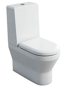 Curve S30 BTW Close Coupled WC With Cistern Angled Lid