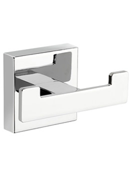 Cheadle Flexi-Fix Double Robe Hook - QM511741
