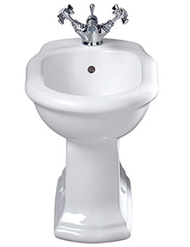 Bergier Floor Standing Bidet 542mm Projection - BE1BI11030