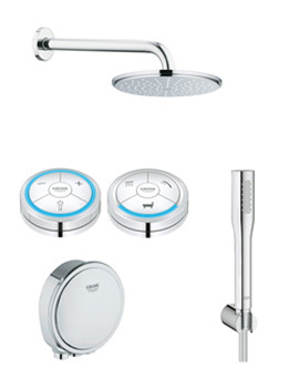 Grohe Spa Grohe F-Digital Bath And Shower Solution Pack 1