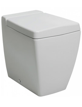 Linea Back To Wall WC Pan 540mm With Wrap Over Soft Close Seat