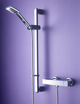 Thermostatic Surface Mounted Bar Shower Valve - QD SHXSMFF C