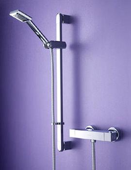 Thermostatic Surface Mounted Bar Shower Valve - QD SHXSMFF C
