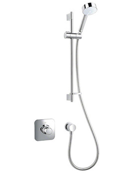 Mira Adept Eco BIV Thermostatic Shower Mixer Chrome - 1.1736.423