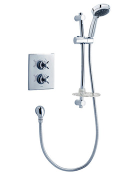 Unichrome Mersey Thermostatic Concealed Shower - UNMEDCMX