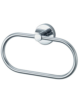 Aqualux Kosmos Chrome Ring For Towels - 1121445