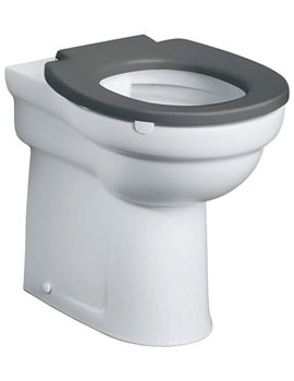 Contour 21 Rimless Back-To-Wall Raised Height WC Pan