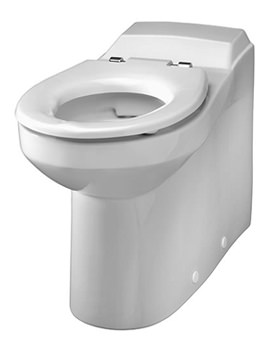 Avalon Rimless Back-To-Wall WC Pan 700mm - AV1498WH