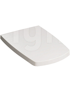 Bauhaus Touch Wrap Over Soft Close Toilet Seat And Cover - ED6105W