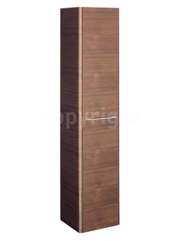 Celeste American Walnut Tower Storage - CL3516FAW