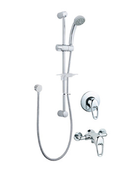 Lace Manual Shower Valve With Single Function Kit - LACCMANM02