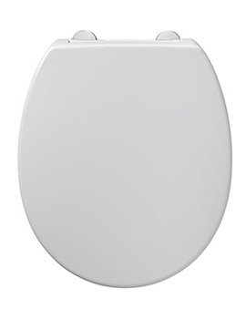 Contour Top Fix Standard Seat And Cover White