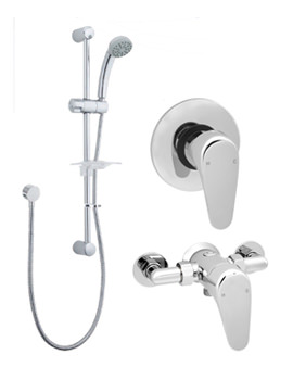 Adore Manual Shower Valve With Single Function Kit